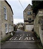 SO8700 : KEEP CLEAR on Chapel Lane, Minchinhampton by Jaggery