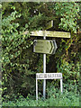TM1389 : Signpost & The Street sign on The Street by Adrian Cable