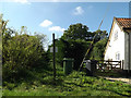 TM1390 : Footpath to Diss & Mill Roads by Adrian Cable