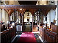 TQ4223 : Interior of St Andrew and St Mary the Virgin Church, Fletching by PAUL FARMER