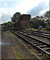 TQ4023 : Water Tower at Sheffield Park Station by PAUL FARMER