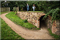 SK3722 : Entrance to the Gardner's Tunnel, Calke Abbey by Oliver Mills