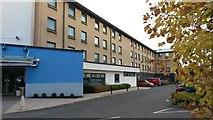 NS4865 : Holiday Inn Express hotel at Glasgow Airport by David Martin