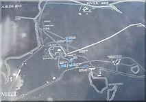 NN0031 : Bonawe site map by M J Richardson