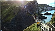 D0644 : Carrick-a-rede Rope Bridge by Chris Morgan