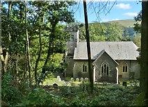 SN7673 : Hafod Church, Cwmystwyth, Ceredigion by Derek Voller