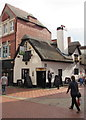 SJ3350 : Thatched roof Horse and Jockey pub in Wrexham by Jaggery