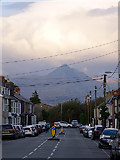 SH5639 : Glaslyn Street, Porthmadog by John Lucas