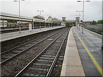 SX9193 : Exeter St. Davids railway station, Devon by Nigel Thompson