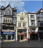 SJ4066 : Chester: 25-29 Eastgate Street by Jonathan Hutchins