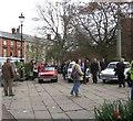 SJ6552 : Classic conveyances 1 - Nantwich, Cheshire by Martin Richard Phelan