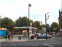 TQ3386 : Stoke Newington station by Malc McDonald