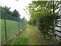 SJ7696 : Public footpath off Trafford Boulevard B5214 by Jonathan Hutchins