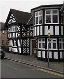 SJ6552 : Grade II listed Sweet Briar Hall, Hospital Street, Nantwich by Jaggery