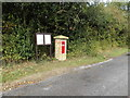 TM1787 : Star Inn Victorian Postbox by Adrian Cable