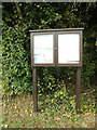 TM1787 : Tivetshall St.Margaret  Village Notice Board by Adrian Cable
