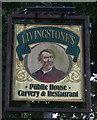TM5286 : Sign for Livingstone's Public House, Kessingland by JThomas