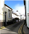 SN6196 : No parking in Church Street, Aberdovey by Jaggery