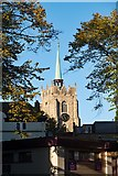 TL7006 : Tower and spire, Chelmsford Cathedral by Julian Osley