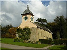 SO4465 : St Michael's church, Croft by Philip Halling