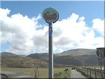 SH6214 : Lon Las Cymru over Mawddach 2 - Barmouth Bridge, Gwynedd by Martin Richard Phelan