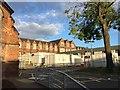 SJ8545 : Royal Stoke University Hospital: Parish Buildings and portakabins by Jonathan Hutchins