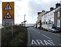 SN6296 : 20mph speed limit sign, Aberdovey by Jaggery