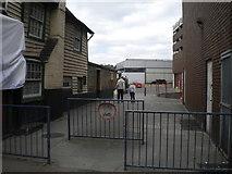 TQ5473 : Alleyway off Lowfield Street, Dartford by Richard Vince