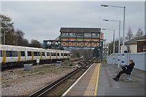 TR1458 : Signalbox, Canterbury West by N Chadwick