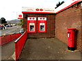 ST2894 : Red corner in St Dials, Cwmbran by Jaggery