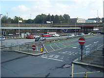 SE1632 : Bradford Interchange from the bus station by Colin Pyle