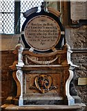 SK9136 : Grantham, St. Wulfram's Church: The Edmund Turnor memorial by Michael Garlick