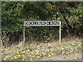 TM1683 : Dickleburgh Road sign on Dickleburgh Road by Adrian Cable