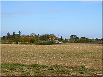 TQ9399 : View north from Old Heath Road by Robin Webster