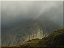 NY2206 : Esk Buttress in the storm by Karl and Ali