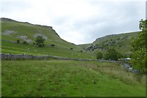 SD9163 : Over fields towards Gordale Scar by DS Pugh