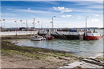 W7966 : Old Harbour, Cobh by David P Howard