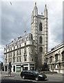 TQ3281 : Church Tower, Queen Victoria Street by Des Blenkinsopp