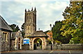 ST7182 : St Mary, Yate and lychgate by Philip Pankhurst