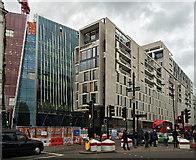 TQ2879 : Development, Buckingham Palace Road by Stephen Richards