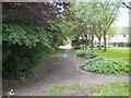 TL1496 : Footpath to Gostwick, Orton Brimbles by Richard Vince