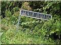 TM1093 : Hall Road sign by Adrian Cable