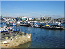 SX4853 : Phoenix Wharf Plymouth by Roy Hughes