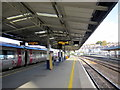 SX4755 : Plymouth Station Platforms 5 and 6 by Roy Hughes