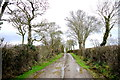 ST4514 : Muddy Country Lane by Nigel Mykura