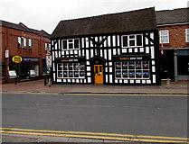 SJ6552 : Grade II listed 20 Beam Street, Nantwich by Jaggery