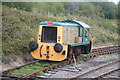 SK0308 : Bagnall diesel locomotive Myfanwy at Chasewater Heaths station by Chris Allen