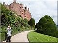 SJ2106 : Powis Castle from the upper terrace by Derek Voller