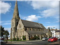 NY1153 : Christ Church, Silloth by David Purchase