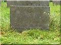 SK6936 : Belvoir Angel headstone, Tithby Churchyard by Alan Murray-Rust
